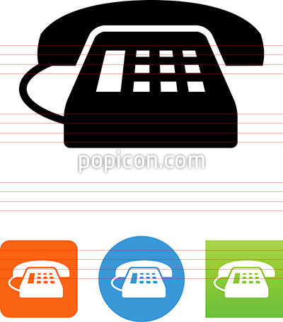 Landline Phone With Caller ID Screen