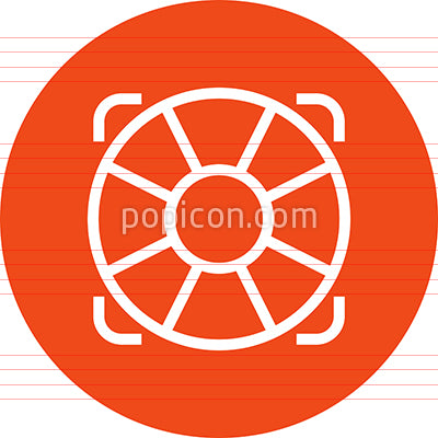 Life Preserver Help Outline Icon