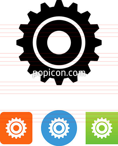 Machine Gear Icon