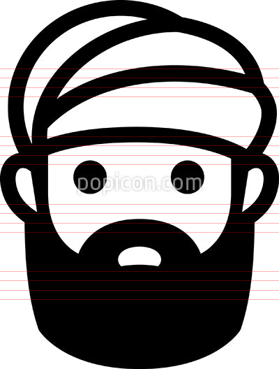 Man Wearing Turban Icon