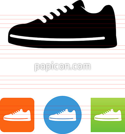 Men's Casual Shoe Icon