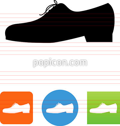 Men's Dress Shoe Icon