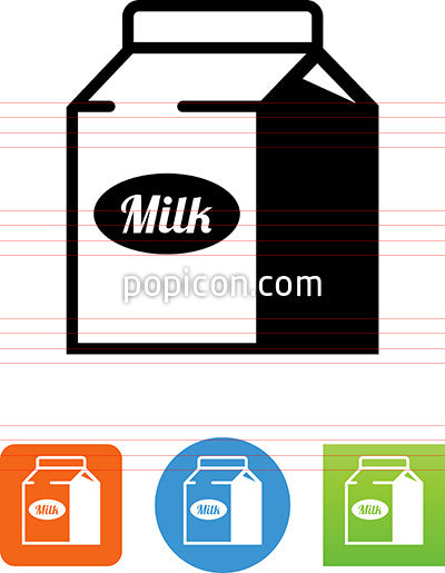 Milk Carton Icon
