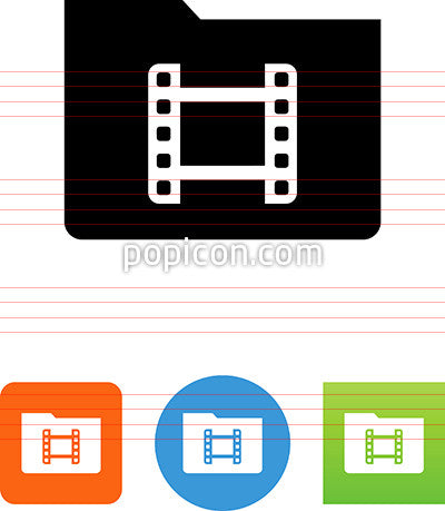 Movie Directory Icon
