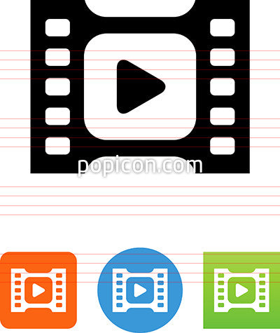 Movie Player Icon