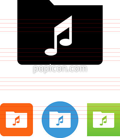 Music Directory Icon
