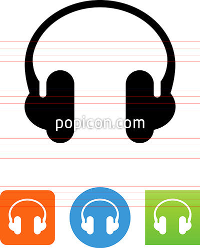 Music Headphones Icon