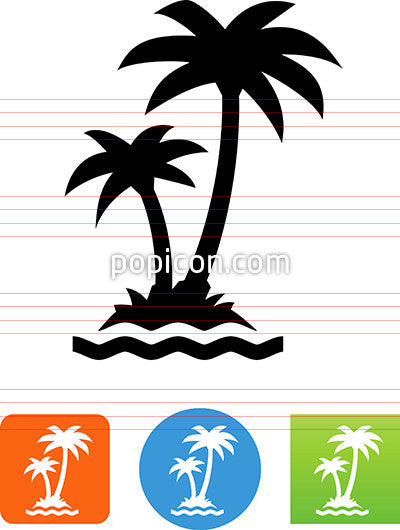 Palm Trees Icon