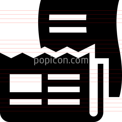 Paper Recyclables Vector Icon