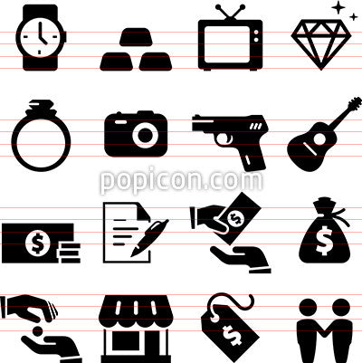 Pawn Shop Icons