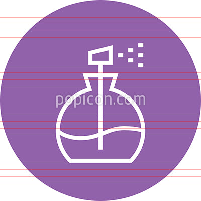 Perfume Bottle Fragrance Outline Icon