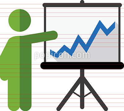 Person Giving Presentation Icon