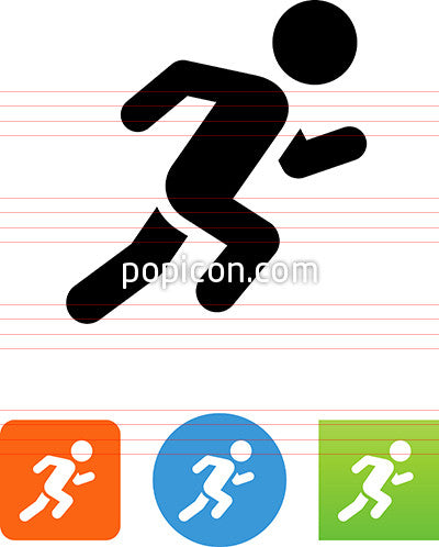 Person Sprinting Icon