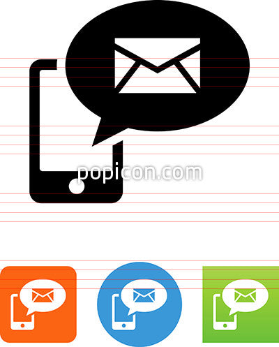 Phone Email Message Icon
