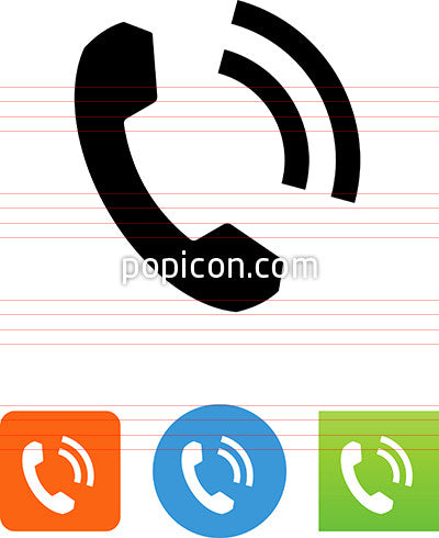 Phone With Signal Icon