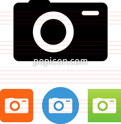 Point And Shoot Camera Icon