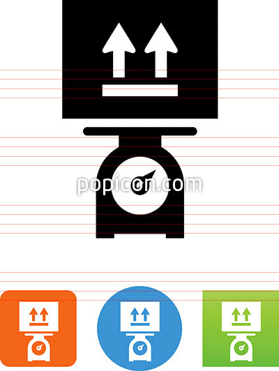 Postage Scale Icon