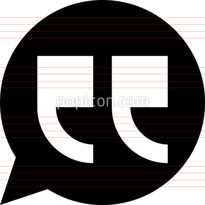 Quotation Mark Vector Icon