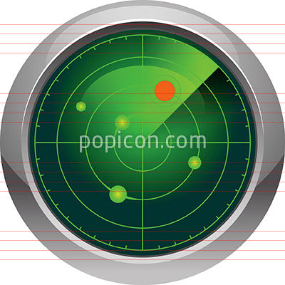 Radar Icon - Color Series