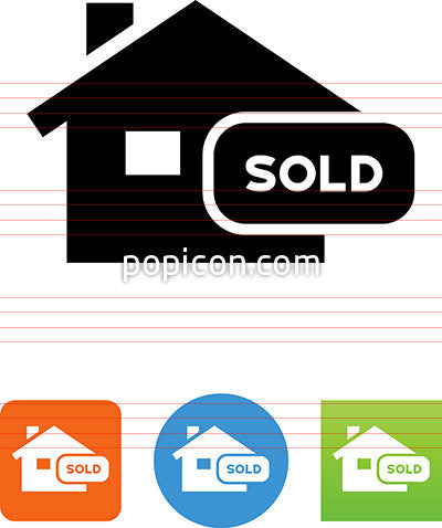 Recently Sold Home Icon
