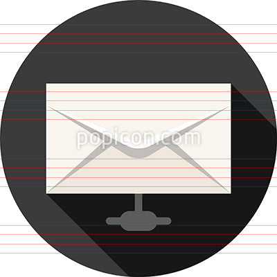 Remote Email Access Icon