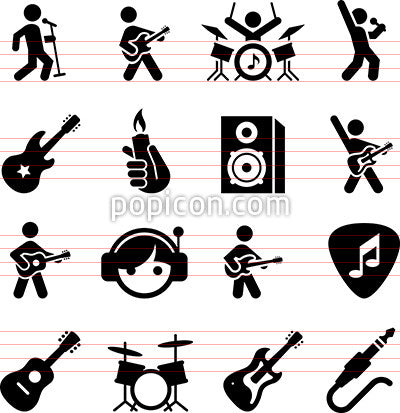 Rock Music Icons