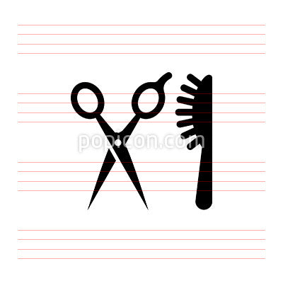 Scissors Brush