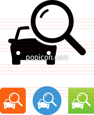 Search For Cars Icon