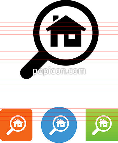 Search For Homes Icon