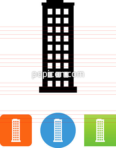Skyscraper Building Icon