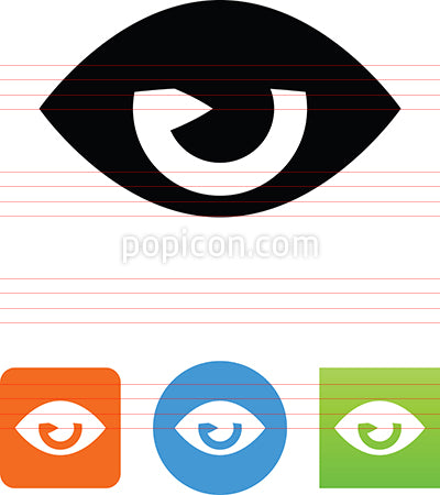 Sleepy Eye Icon