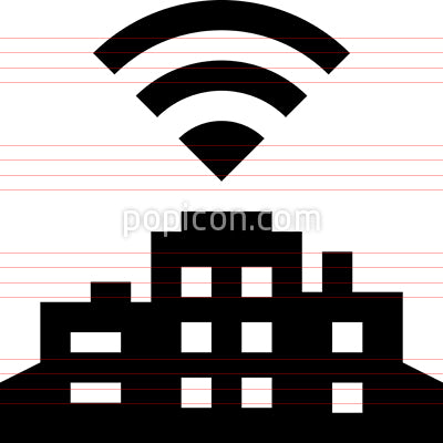 Smart City Vector Icon