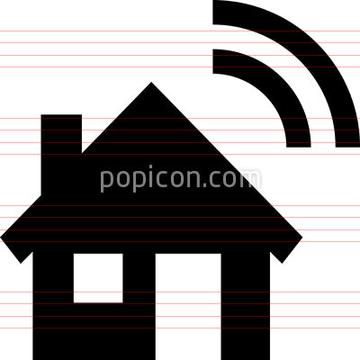 Smart Home Vector Icon