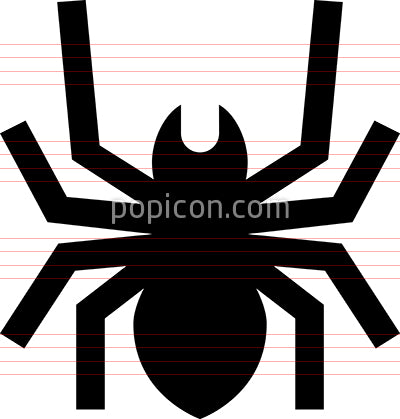 Spider Insect Vector Icon