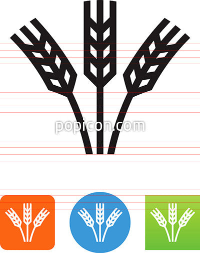 Stalks Of Grain Icon