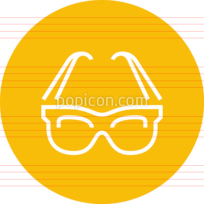 Sunglasses Shades Glasses Outline Icon