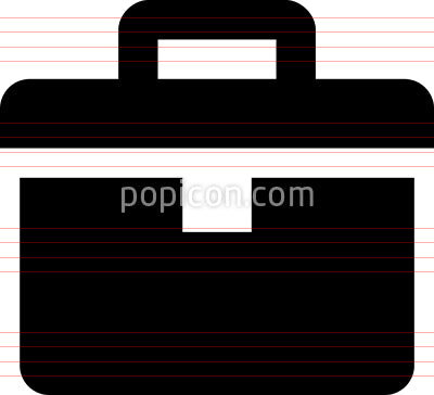 Toolbox Repair Kit Vector Icon
