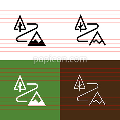 Trail Icon Set