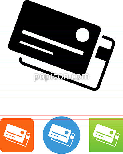 Two Credit Cards Icon