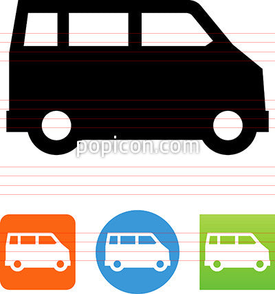Van Side View Icon