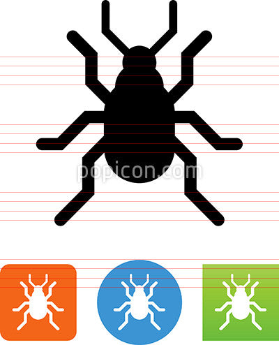 Vector Beetle Icon