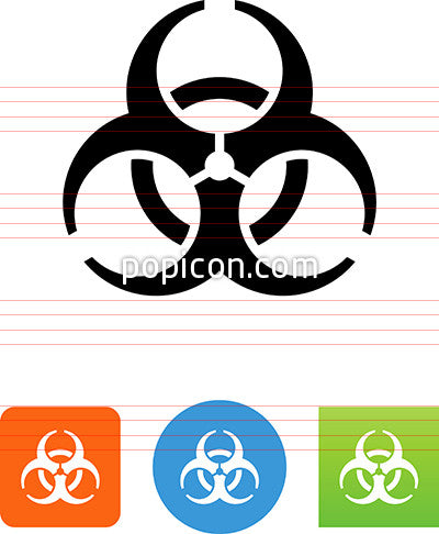 Vector Biohazard Icon