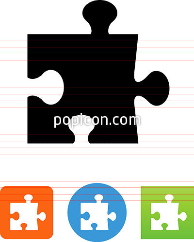 Vector Puzzle Piece Icon