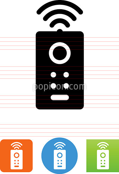Vector Remote Control Icon