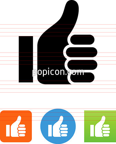 Vector Thumbs Up Icon