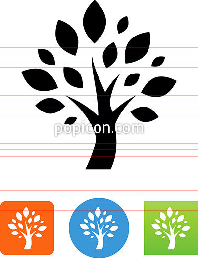 Vector Tree Icon