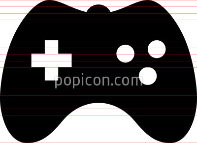 Video Game Controller Vector Icon
