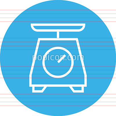 Weight Measure Scale Outline Icon