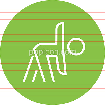 Workout Exercise Fitness Outline Icon