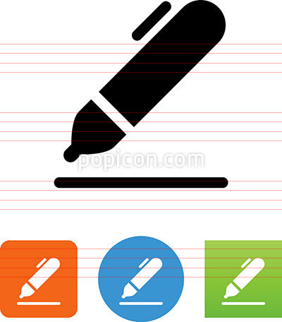 Writing Pen Icon